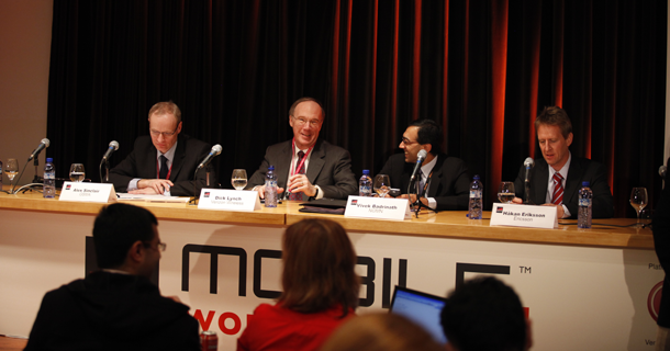 GSMA Press-Conference at Mobile World Congress Barcelona