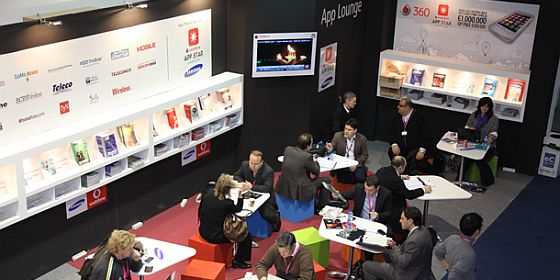 App Lounge Mobile World Congress 2010